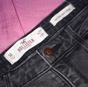 Black Hollister Skinny Jeans